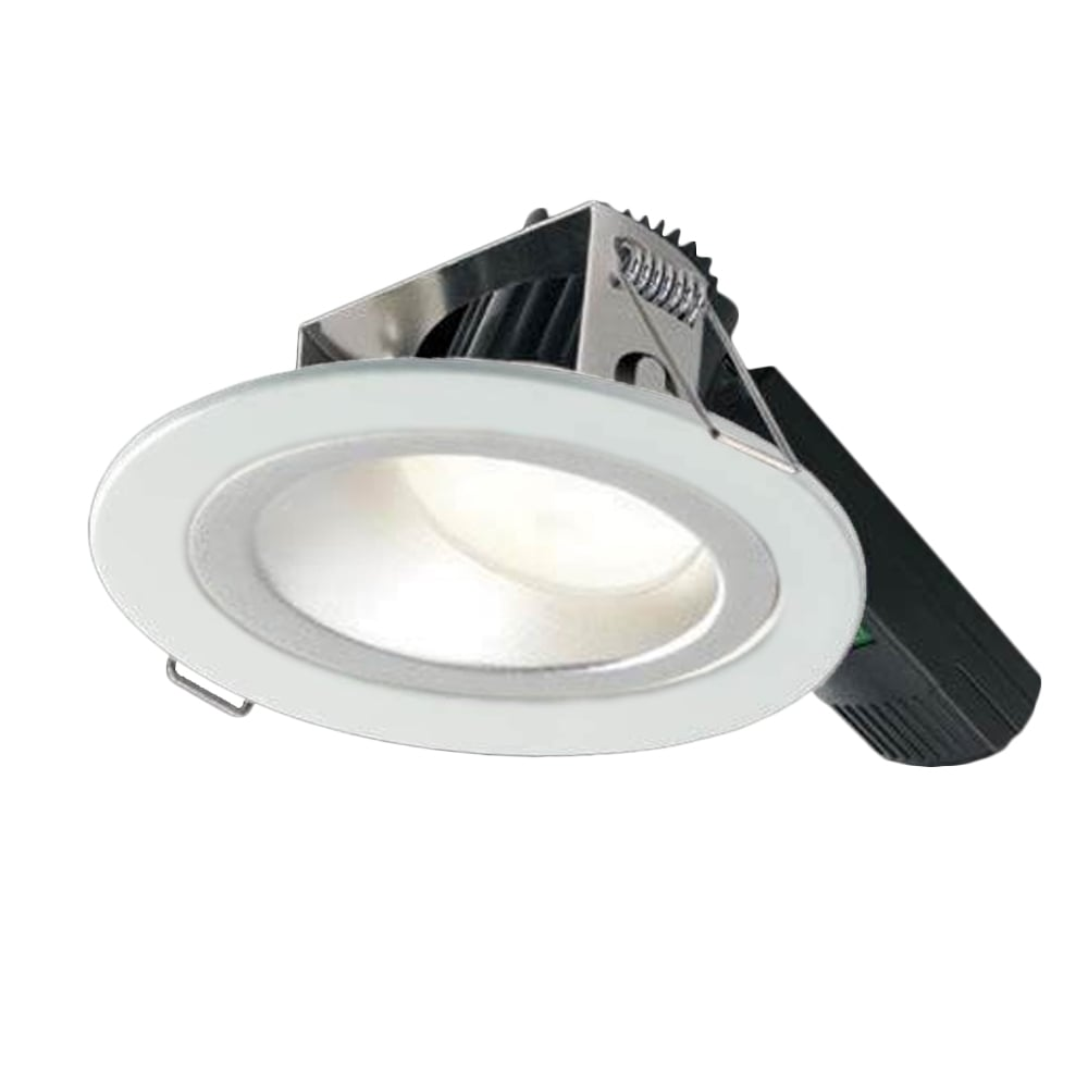 cheap for discount e729f 5f57f Collingwood Lighting H5 1000 Asymmetric Low Glare Fire-Rated LED Downlight  - White