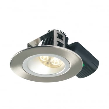 H5 500 Asymmetric Low Glare, Fire-rated LED Downlight
