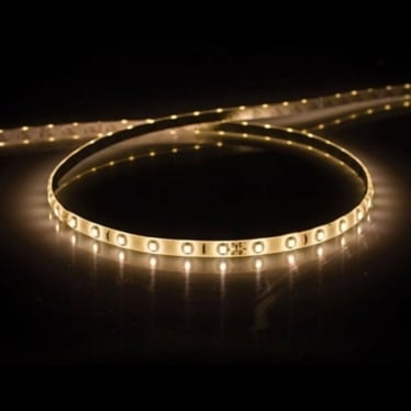 LSV43 Flexible LED Strip IP44 - 2700k/ 3000k/ 4000k - 5 metre reel only - Low voltage