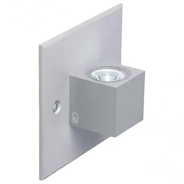 MC015 S MAINS mini LED Cube wall light - Aluminium