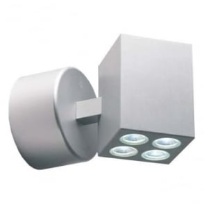 MC040 MAINS LED wall light - Aluminium
