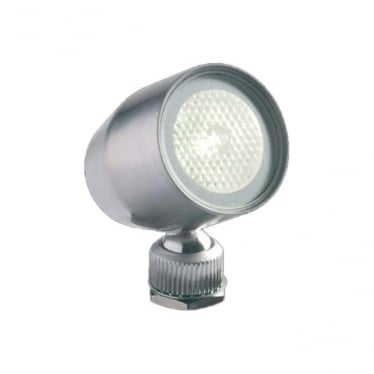 MF02 IP adjustable LED mini light - Stainless steel - Low voltage