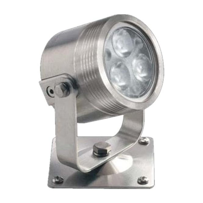 Collingwood Lighting UL030RGBW Colour change LED light with bracket 12w - Stainless steel