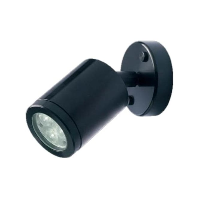 Collingwood Lighting WL020A BLACK LED wall light - Aluminium - Low voltage