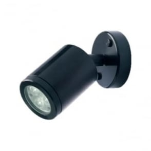 WL020A BLACK LED wall light - Aluminium - Low voltage