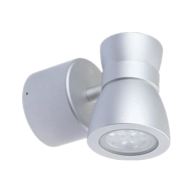 Collingwood Lighting WL075RGB High output LED Colour change wall down light 12w - Aluminium