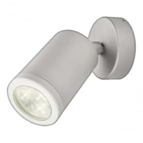 WL220A mains LED wall light - Aluminium