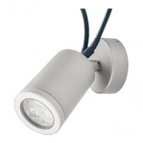 WL220CARGB Colour change LED adjustable wall light 4w - Aluminium - WHITE BODY - Low voltage