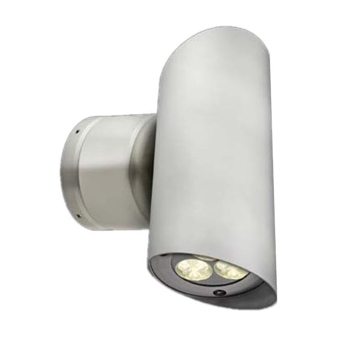 Collingwood Lighting WL262 Large up/down LED MAINS Wall light - Aluminium