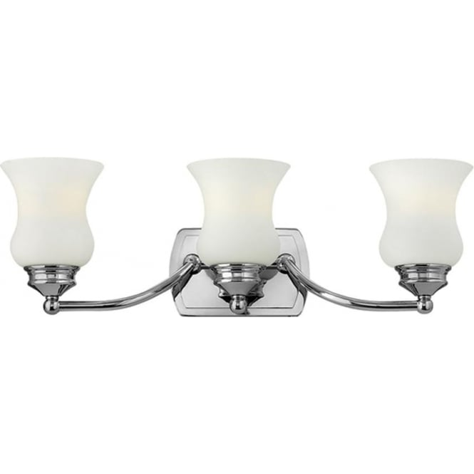 Hinkley Lighting Constance 3 Light Above Mirror Light Polished Chrome