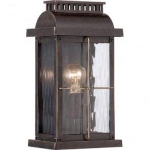 Cortland Small Wall Lantern Imperial Bronze