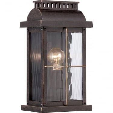Cortland Small Wall Lantern Imperial Bronze