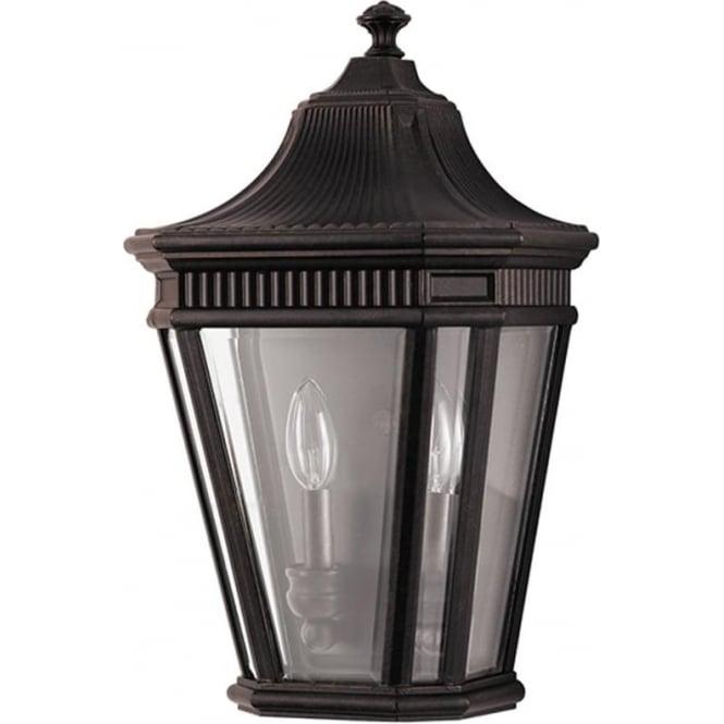 Feiss Cotswold Lane Half wall lantern - Bronze