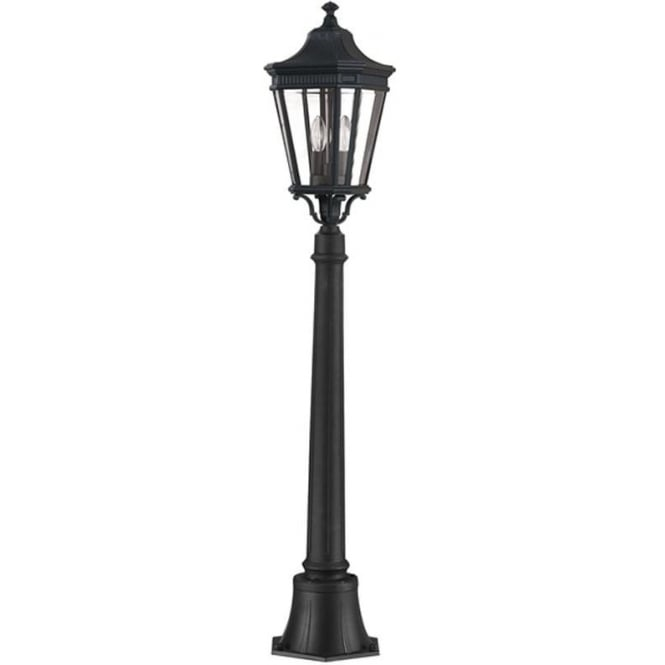 Feiss Cotswold Lane medium pillar - Black