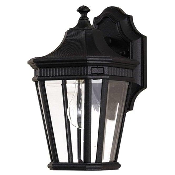 Feiss Cotswold Lane small wall lantern - Black