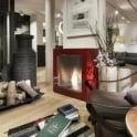 EcoSmart Fire Cube - Free-standing Designer Fireplace