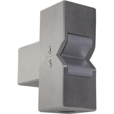 Cube Pillar Light - stainless steel - Low Voltage