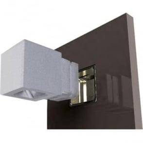 Cube Recessed Cloak - Powder coat colours - Low Voltage