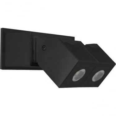 Cube Wall Light Dual Mount Adjustable - Powder coat colours - Low Voltage