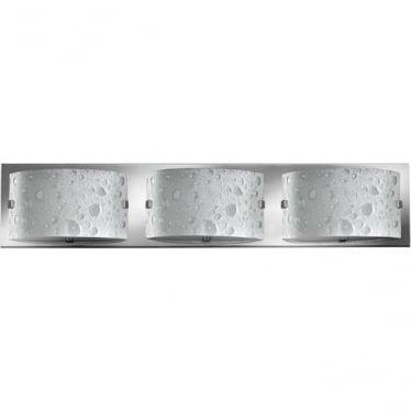 Daphne 3 Light Bathroom LED Wall Light IP44 Polished Chrome