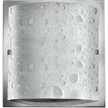 Daphne Single Light Bathroom LED Wall Light IP44 Polished Chrome