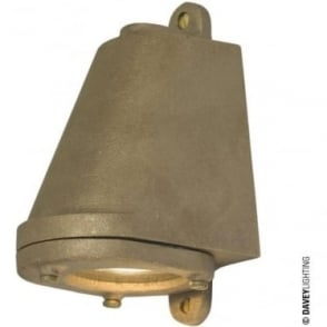 0749 LED Mast Light + LED Lamp, Sandblasted Bronze, Mains