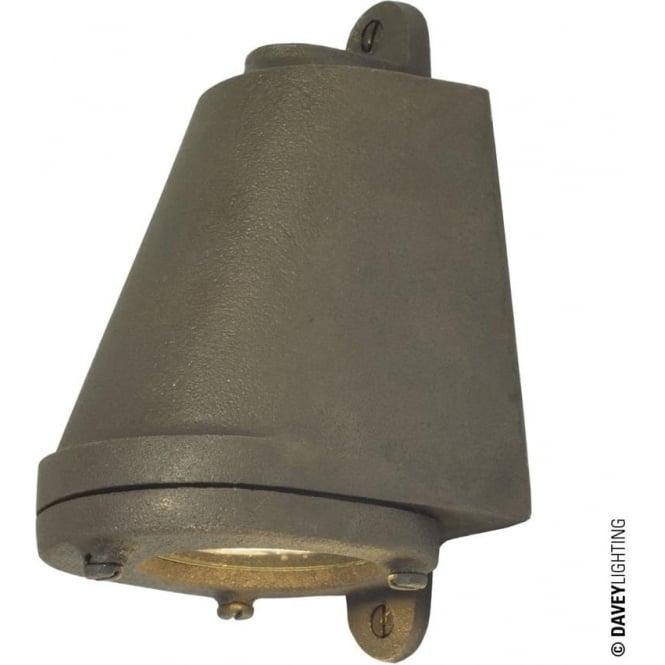 Davey Lighting 0749 LED Mast Light + LED Lamp, Sandblasted Bronze Weathered, Mains