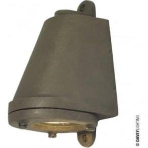 0749 LED Mast Light + LED Lamp, Sandblasted Bronze Weathered, Mains