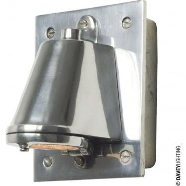 0750 Mast Light with cast transformer box, Anodised Aluminium