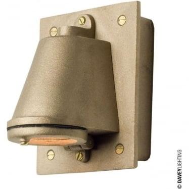 0750 Mast Light with cast transformer box, Sandblasted Bronze, Mains