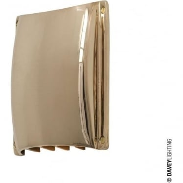 2464 Yacht Ventilator cover, Polished Bronze