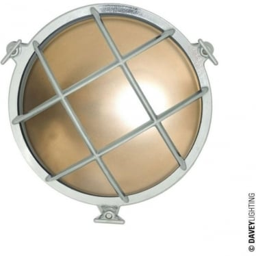 7028 Brass Bulkhead with internal fixing (Diameter 190mm) Chrome plated