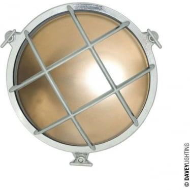 7028/M Yacht brass Bulkhead (Diameter 185mm) Chrome plated