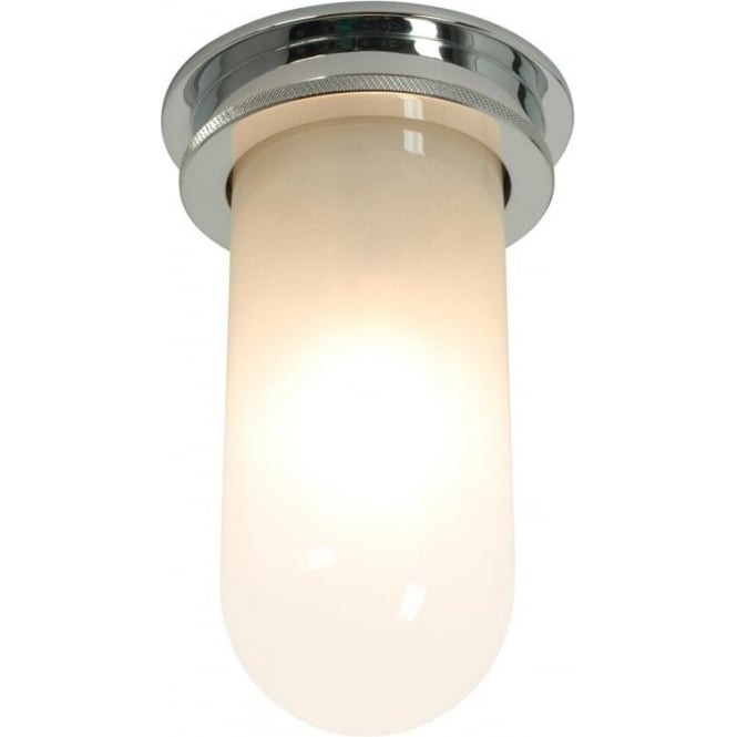 Davey Lighting 7202 ship's campanionway, Miniature, chrome plated, frosted glass