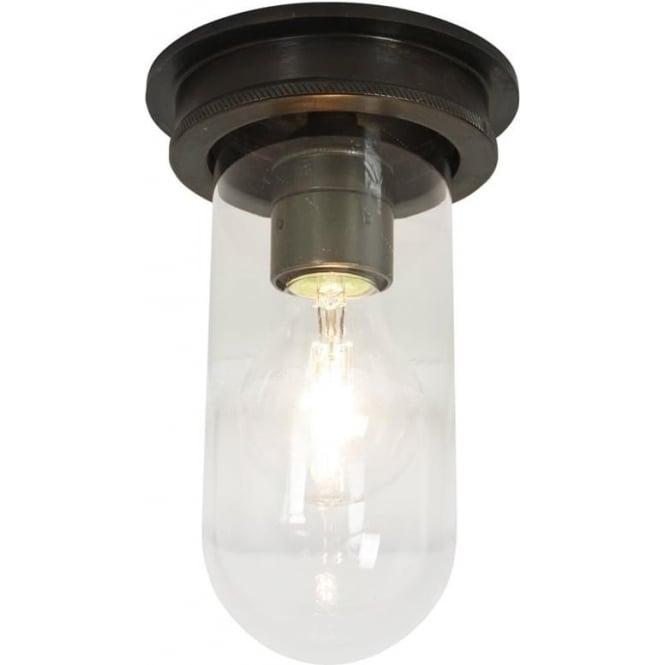 Davey Lighting 7202 Ship's campanionway, Weathered Brass, Clear glass