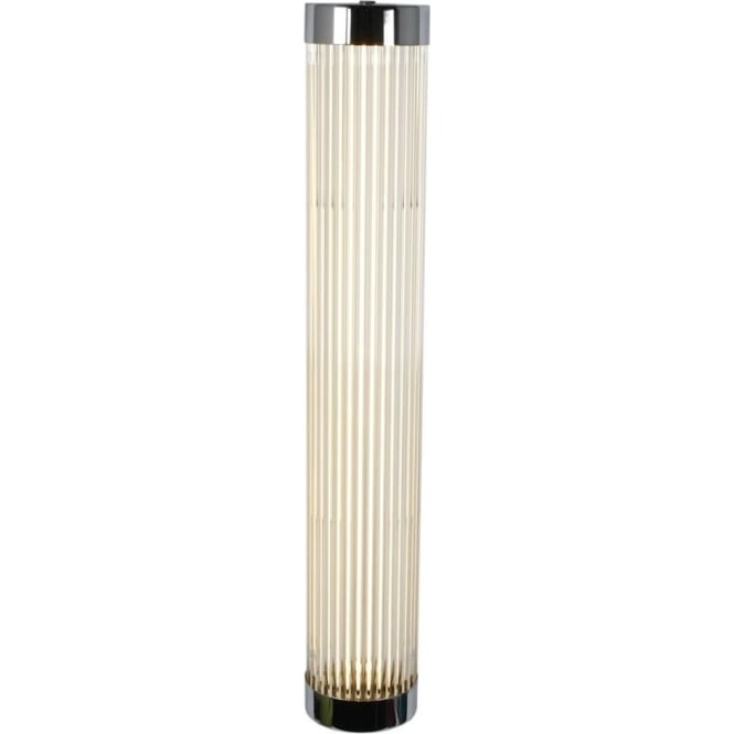 Davey Lighting 7211 Pillar LED Wall Light, Narrow, Chrome Plated, 60cm