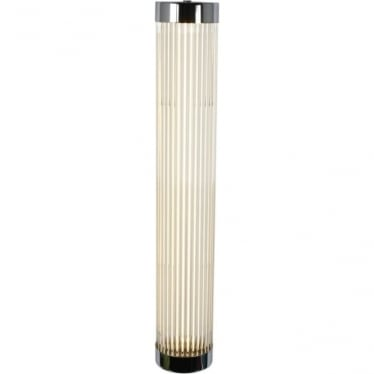 7211 Pillar LED Wall Light, Narrow, Chrome Plated, 60cm