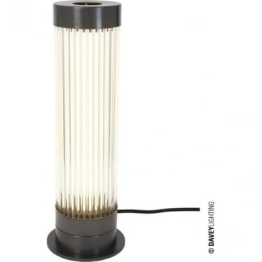 7214 Pillar Table Light, Weathered Brass