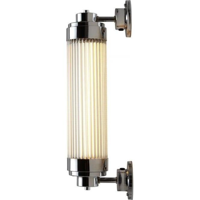 Davey Lighting 7216 Pillar Offset LED Wall Light, Chrome Plated