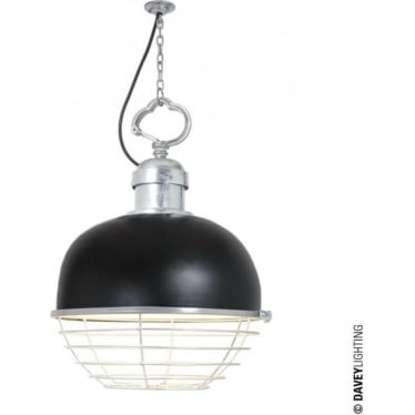 7243 Oceanic Large Pendant, Black