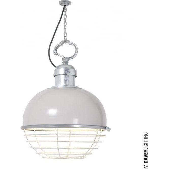 Davey Lighting 7243 Oceanic Large Pendant, Putty Grey