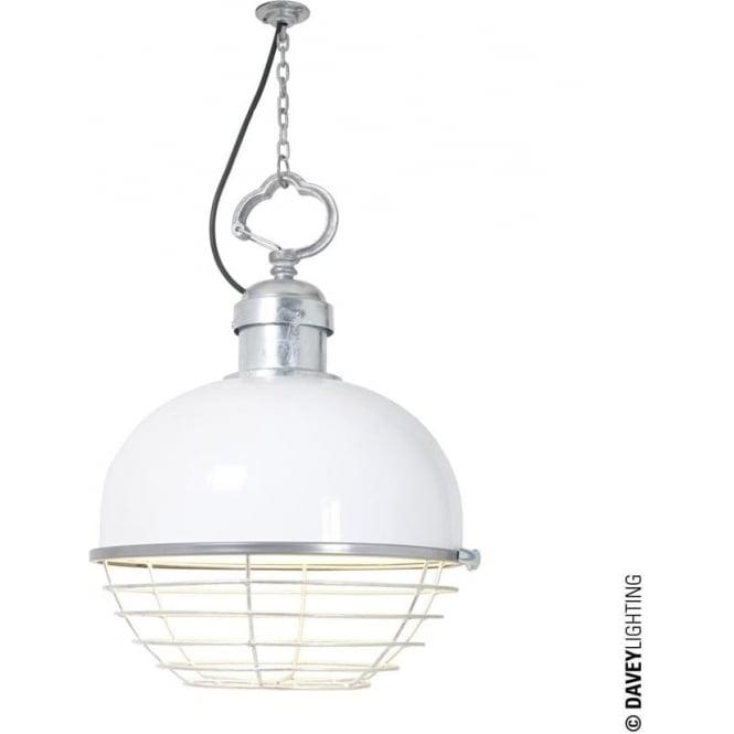 Davey Lighting 7243 Oceanic Large Pendant, White