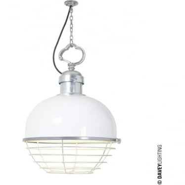 7243 Oceanic Large Pendant, White