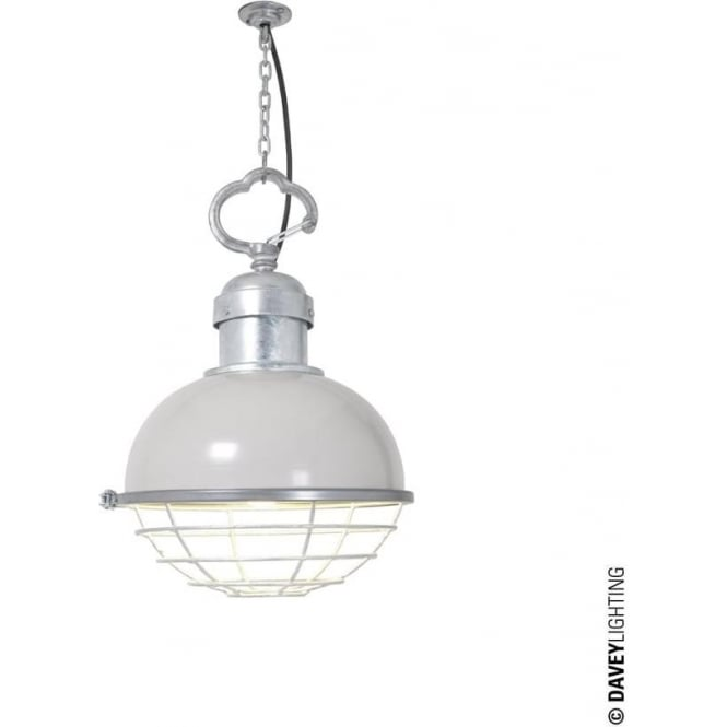 Davey Lighting 7243 Oceanic Pendant, Putty Grey