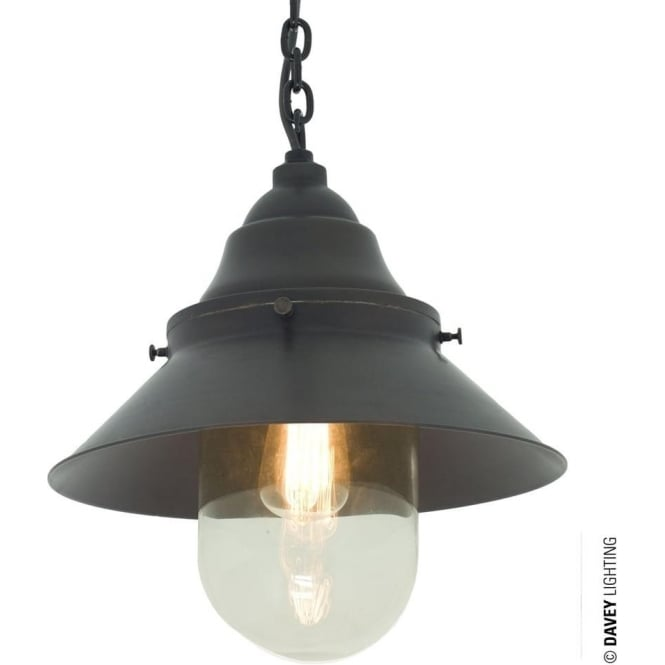 Davey Lighting 7244 Deck Light, Large, Weathered