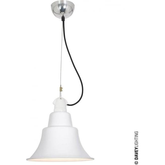 Davey Lighting 7245 Zoe Pendant, White