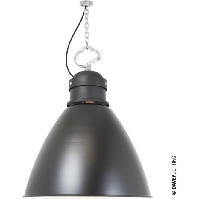 Davey Lighting 7380 Pendant, Large, Black