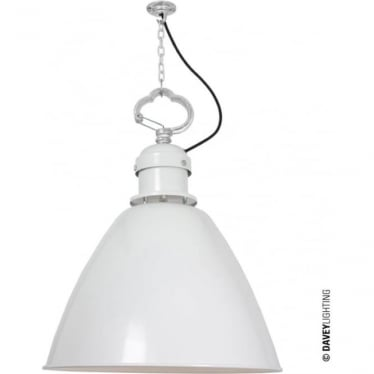 7380 Pendant, Large, White