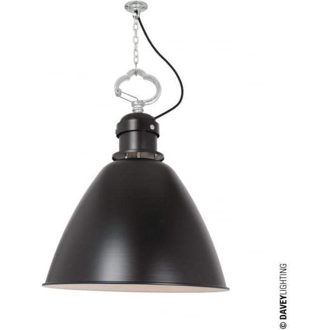 Davey Lighting 7380 Pendant, Medium, Black