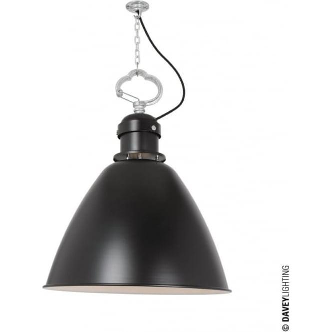 Davey Lighting 7380 Pendant, Small, Black